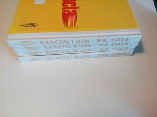 exacta enciclopedia de matemática 4 ts