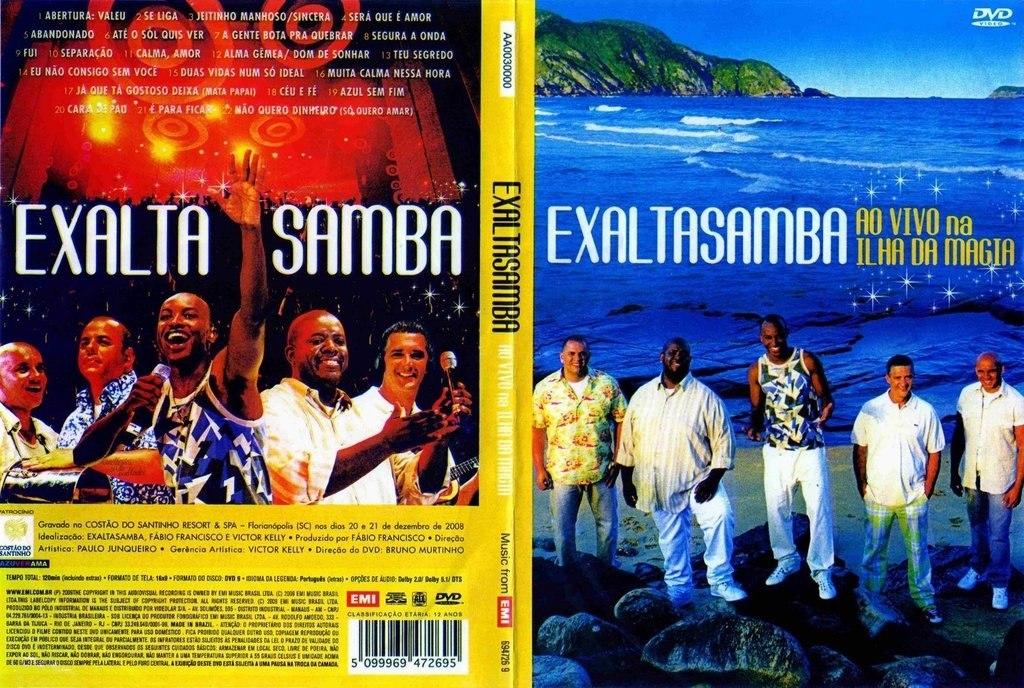 cd exaltasamba na ilha da magia