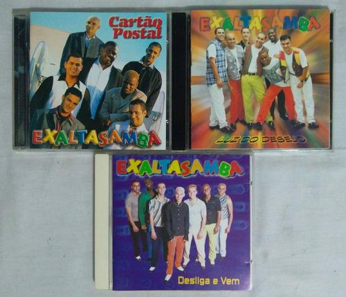 exaltasamba desliga e vem cartão postal luz do desejo 3 cds