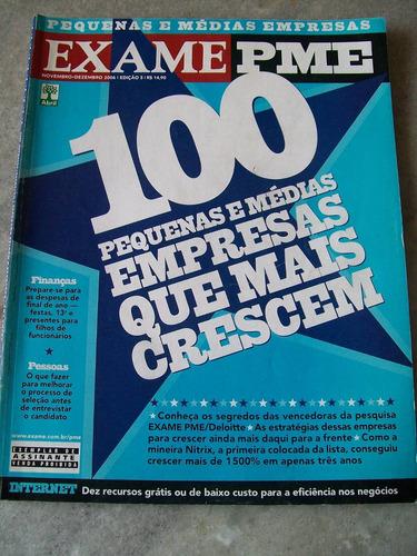 exame especial - 100 peq. medias emp. que mais crescem -2006