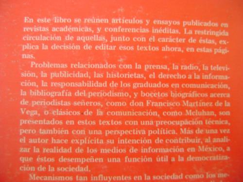 examen de la comunicacion en mexico. m. granados chapa.
