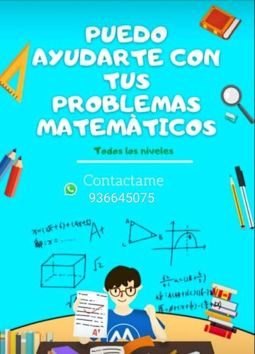 examen tiempo real en matematica, física y quimica
