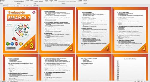 exámenes trimestrales (telesecundaria) trimestre 3