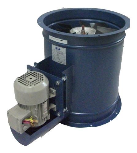 exaustor axial transmissão 40cm - vc400ttr - trifásico