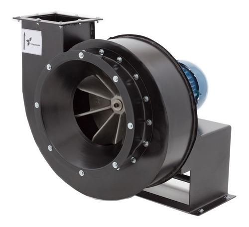 exaustor centrifugo motor 5hp blindado ventilador ventisilva