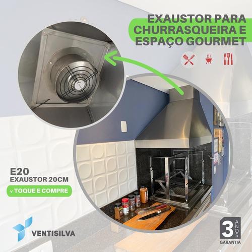 exaustor coifas churrasqueira, espaço gourmet / ventisilva