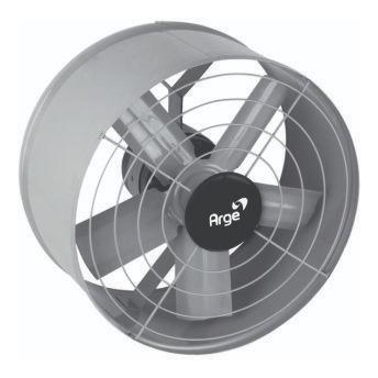 exaustor de 40cm - 127 ou 220v - a-400 - alta rotação - arge