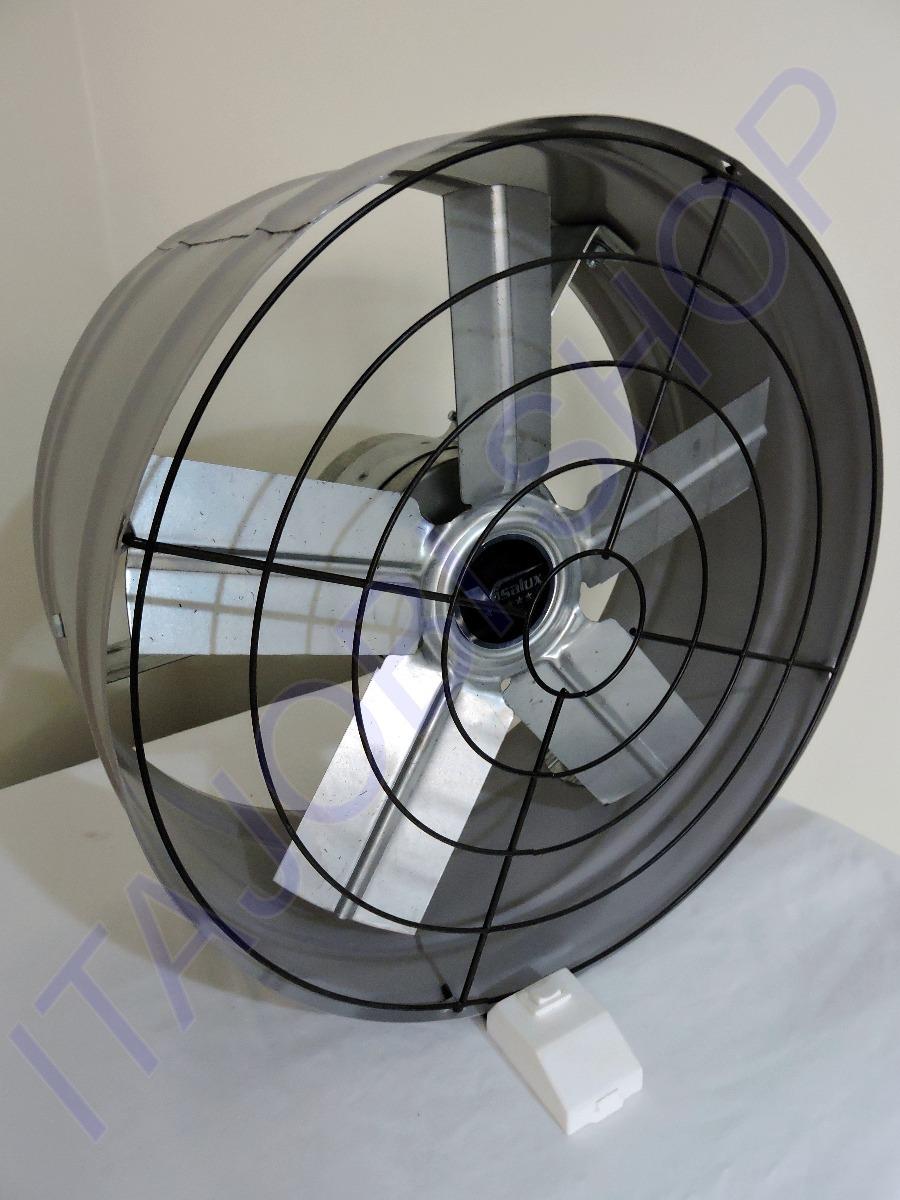Exaustor De Parede Industrial Alta Vaz O 50cm C Revers O R 199