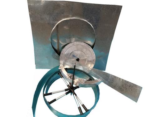 exaustor eolico-industrial  comercial 24 polegadas completo