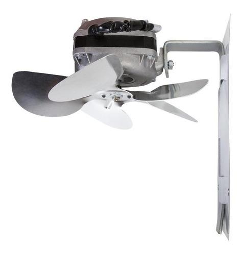exaustor para churrasqueiras com hélice de alumínio 200mm