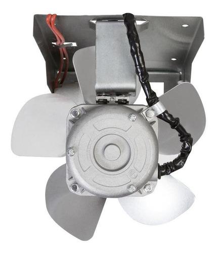 exaustor para churrasqueiras itc 200mm com iluminação - 127v