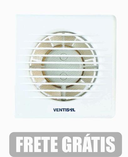 exaustor ventisol 150  banheiro ambientes 150mm frete gratis