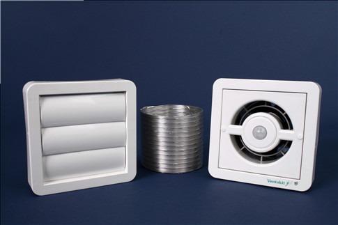 exaustor/renovador ar ventokit c 280 d c/ sensor de presença