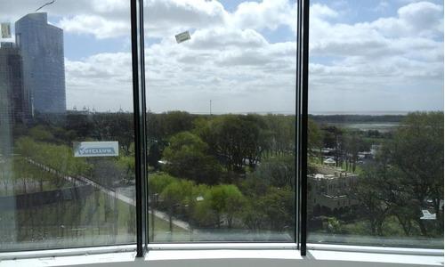 exc 4 amb vista al rio/puerto madero!!