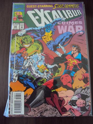 excalibur # 68 e 69 - marvel comics - importada