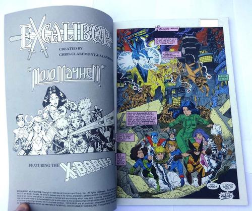 excalibur - mojo mayhem - x-babies - marvel usa - 1989