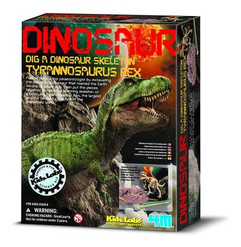 excava un dinosaurio rex