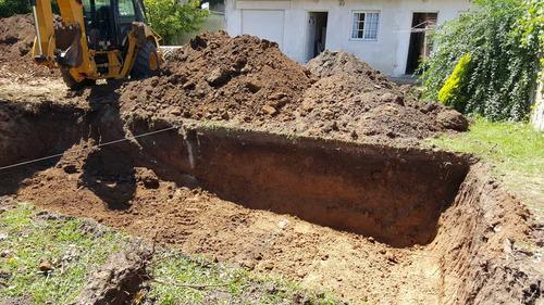 excavación pozo piletas natación - piscinas : zona sur