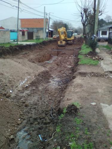 excavaciones. movimiento de suelo. limpieza de terrenos