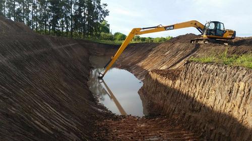 excavaciones tajamares movimientos de tierra alq. maq. vial