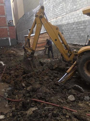 excavaciones y afirmados. recolección de escombros