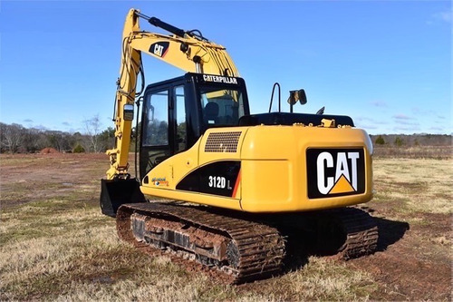 excavadora  312dl  caterpillar