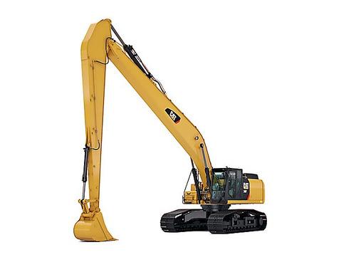 excavadora 320 (brazos largos) caterpillar, komatsu, doosan