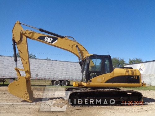 excavadora 320 d cat 2008