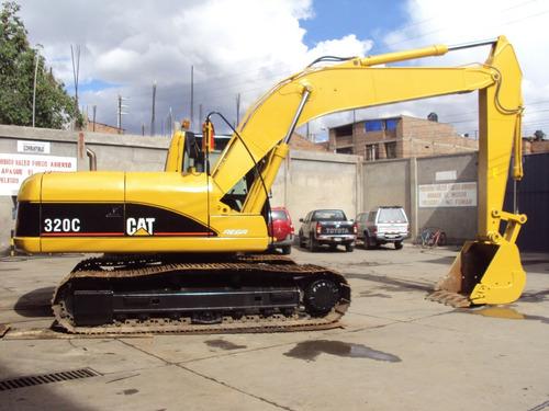 excavadora 320c - operativo y en perfecto estado