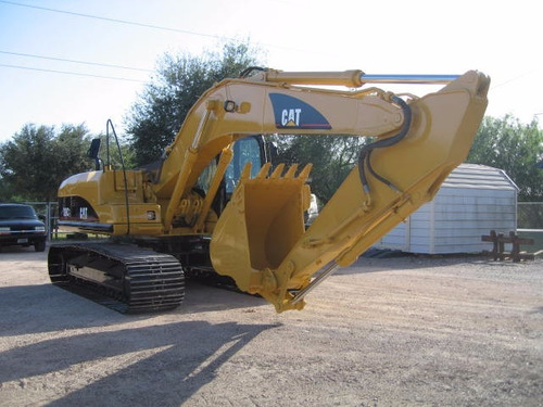 excavadora 320cl año 2006 kit de martillo recien importada