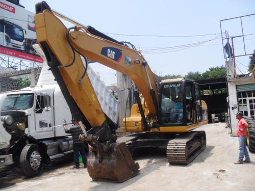excavadora 320d caterpillar 2010 con kit para  martillo