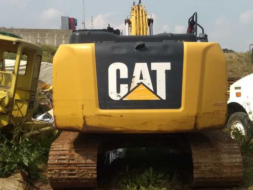 excavadora 320e, caterpillar pocas hrs. 2014