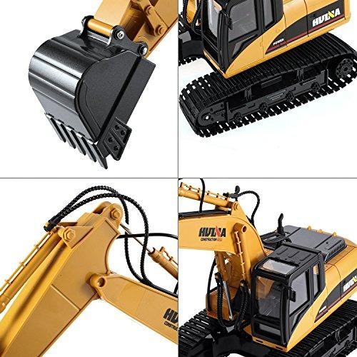 excavadora a control remoto 15 canales y todas s funciones e