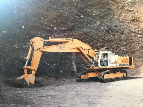 excavadora alemana marca liebherr r-964