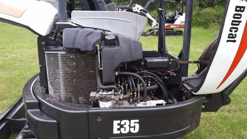 excavadora bobcat e35  vegusa maquinaria