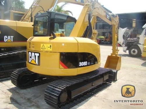 excavadora cat 308d cr 2011