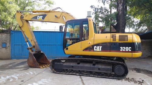 excavadora cat 320 c