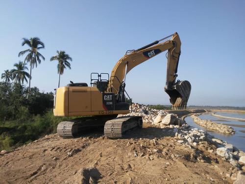 excavadora cat 320e año 2013