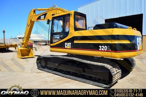 excavadora cat 320l 1995, caterpillar