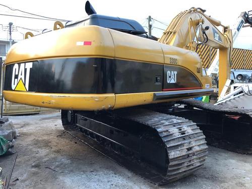 excavadora cat 330 c 330cl grande moderna precio caterpillar