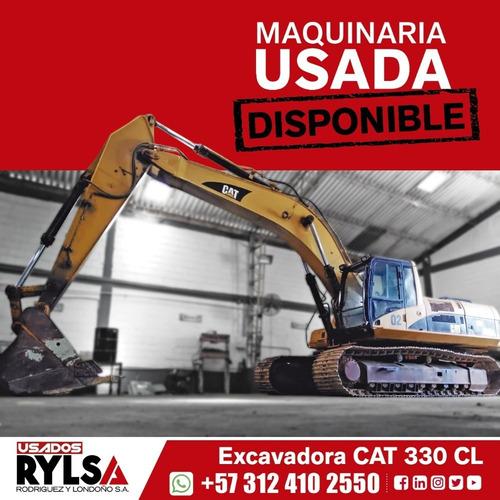 excavadora cat 330 caterpillar usada buen precio promoción