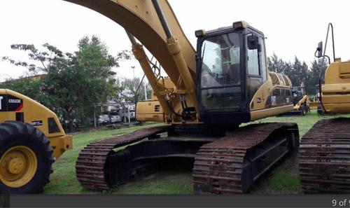excavadora cat 330cl año 2004 con 10.000horas vea el video