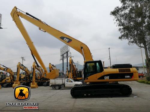 excavadora cat 330dl 2008  caterpillar 345cl cat336dl