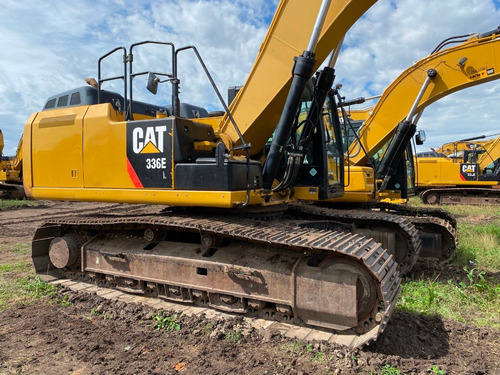 excavadora cat 336e 2014 6000 hrs
