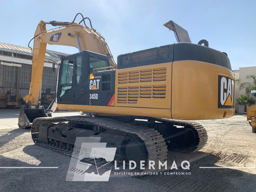 excavadora cat 345dl año  2009  eco 3119