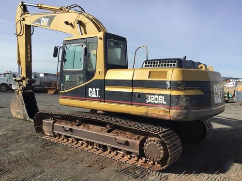 excavadora cat caterpillar 320 bl año 1999 recien importado
