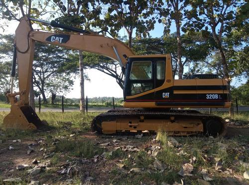 excavadora caterpilar 320bl