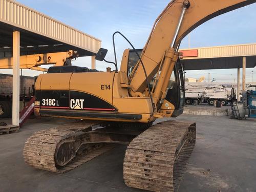 excavadora caterpillar 318cl mod 2007 excelentes condiciones