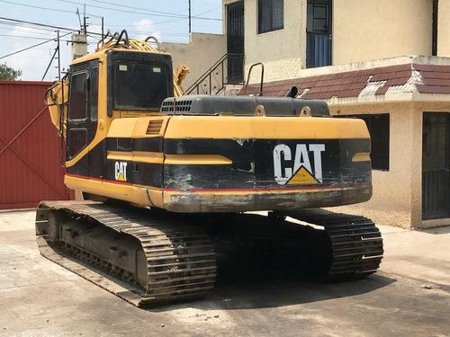 excavadora caterpillar 320 bl con kit de martillo