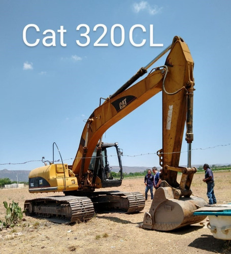 excavadora caterpillar 320 cl 2006
